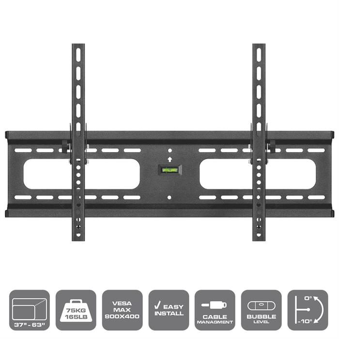 "Features - Built-in bubble level, Easy Lock, TV Wall Mount For 37""-70"" TV's"