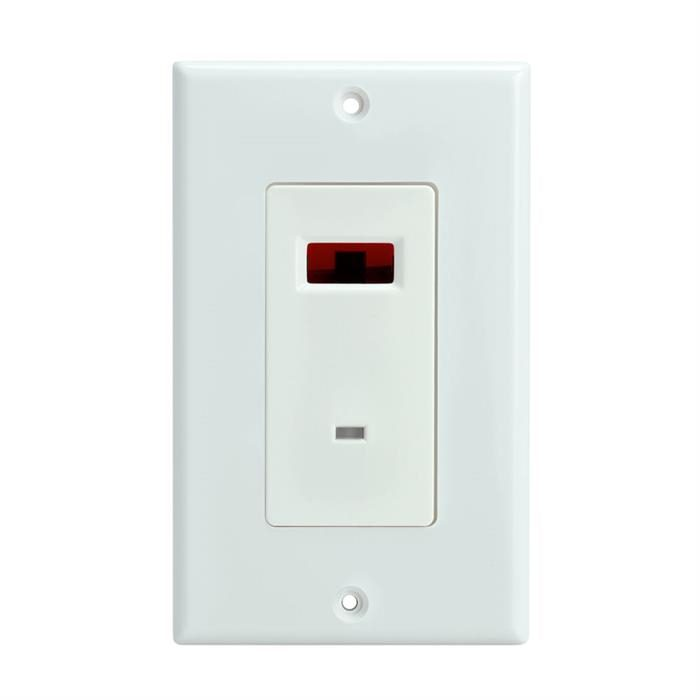 IR Repeater Wall Plate Sensor Receivers Dual Frequency