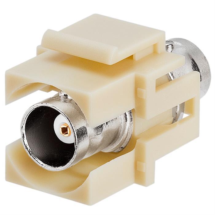Keystone Jack - Modular BNC Ivory