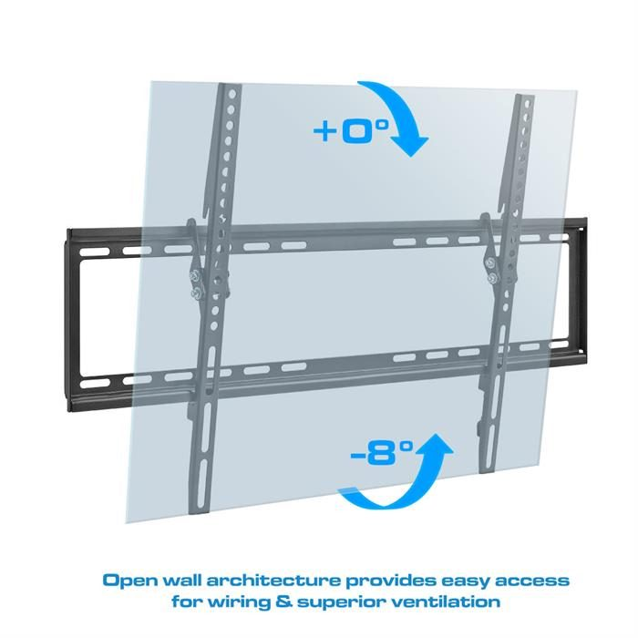 "Open Wall Architecture - Tilting TV Wall Mount For 37-70"" Flat Panel TVs"