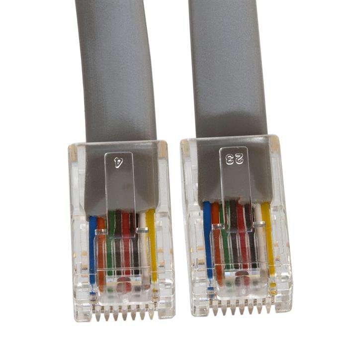 Phone Cable, RJ45 (8P8C), Straight - 14 Feet (Data)
