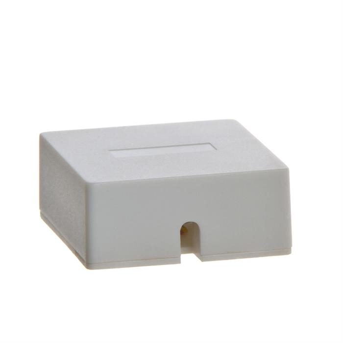 Phone Surface Mount 6P6C - 1port - WHITE
