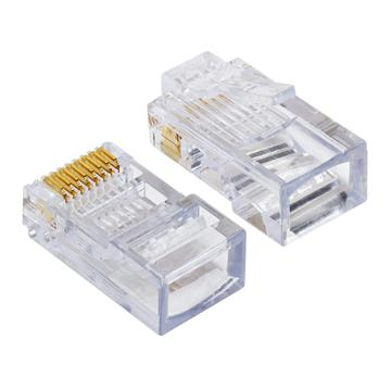 Platinum Tools 100003C EZ-RJ45 Cat5/5e Connectors, 50 Pc. Clamshell
