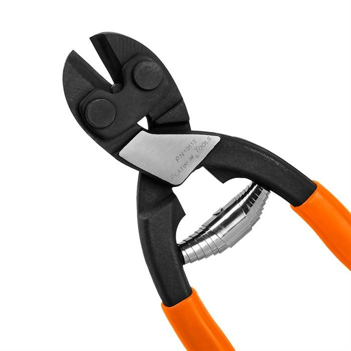 Platinum Tools 10512 Steel Wire Cutter with Comfort Grip