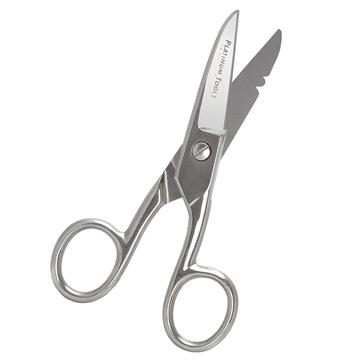 "Platinum Tools 10517C Electrician's Scissors 5"" Scissor-Run Design"