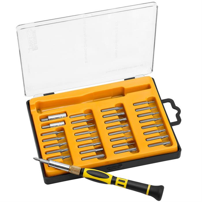 Platinum Tools 19101 Precision Screwdriver Set - 33 Piece