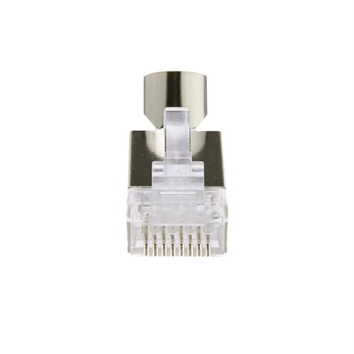Platinum Tools 202022J EZ-RJ45 Shielded Cat5e/6 External Ground Connector - Jar of 50