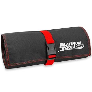 Platinum Tools 4007 Hanging Pouch with 3 Zipper Compartments