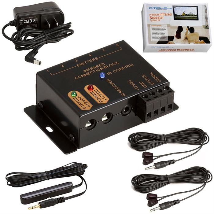 PREMIUM IR Extender Hidden Infrared Repeater System Kit