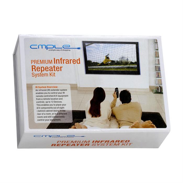 PREMIUM IR Extender Hidden Infrared Repeater System Kit