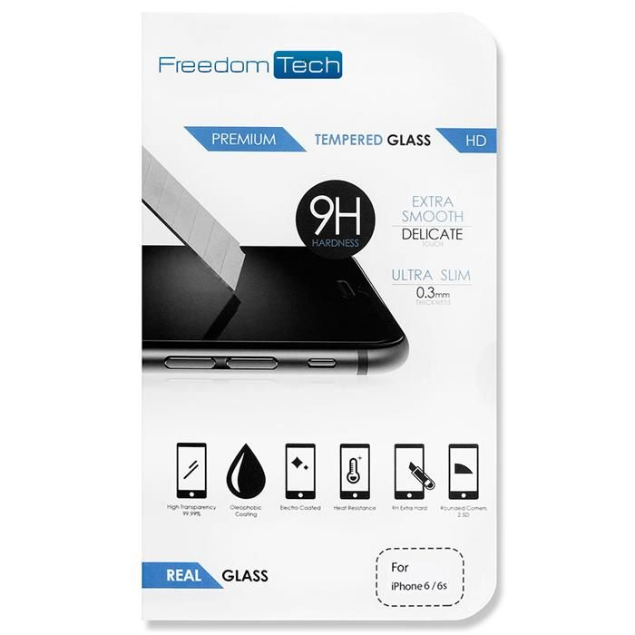 Premium Real Tempered Glass Screen Protector For Apple iPhone 6/6s