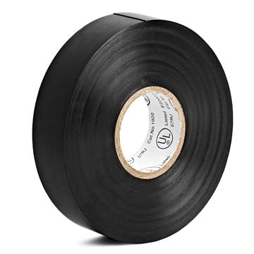 "PVC Electrical Tape Roll 3/4"" Wide - 65ft Black"