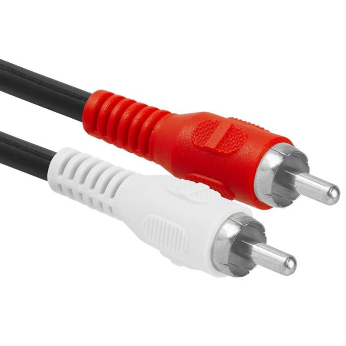 RCA Jack to 2xRCA Plug Adapter - Y-Adapter