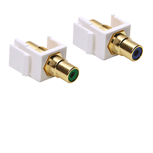 Picture for category RCA Keystone Jacks