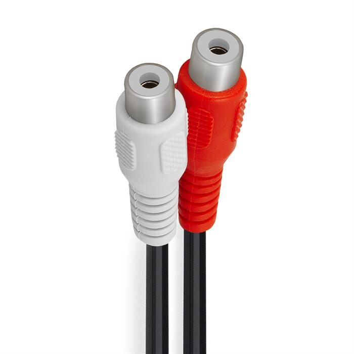 RCA Plug to 2xRCA Jack Adapter - Y-Adapter