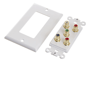 Picture for category RCA Wall Plates