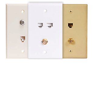 Picture for category RJ11 | RJ12 Wall Plates