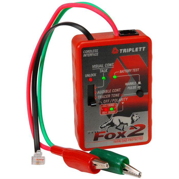 Triplett 3399 Fox 2 and Hound 3 Probe Kit w/ Carrying Case