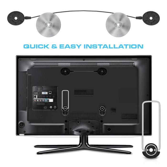 Quick and easy installation - Ultra Slim TV Wall Mount