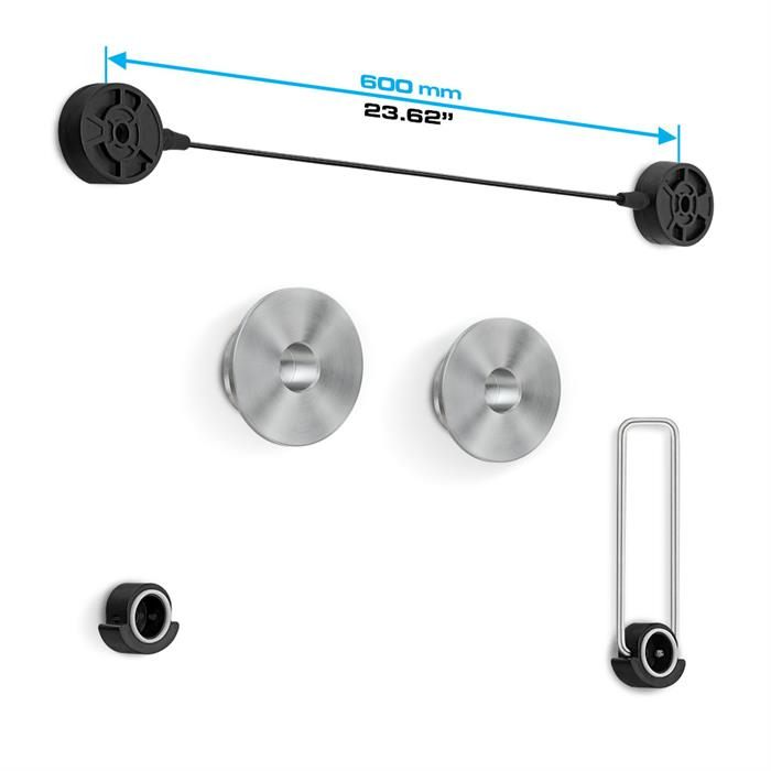 """Dimensions - Ultra Slim Fixed TV Wall Mount For 37-70"""" TV's"""