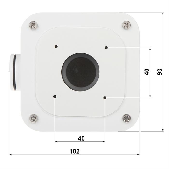 Uniview Junction Box For UNV Mini IP Bullet Cameras TR-JB05-A-IN