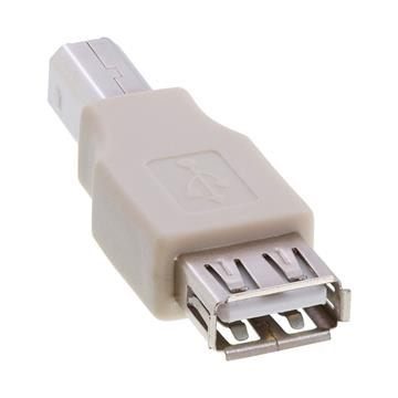 USB 2.0 A Female to B Male Adapter