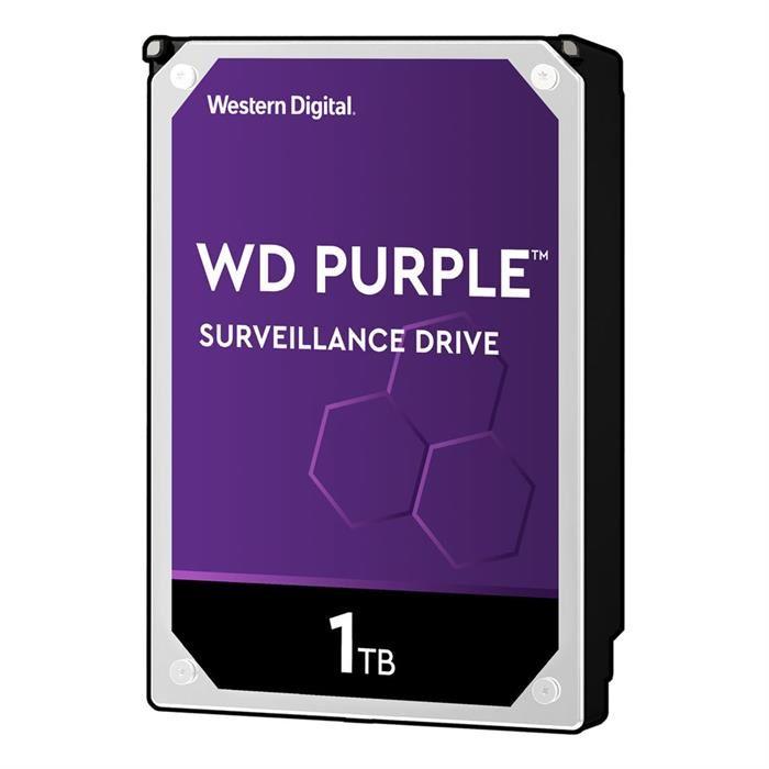 """WD Purple WD40PURX 1TB Surveillance 3.5"""" Internal SATA Hard Drive"""