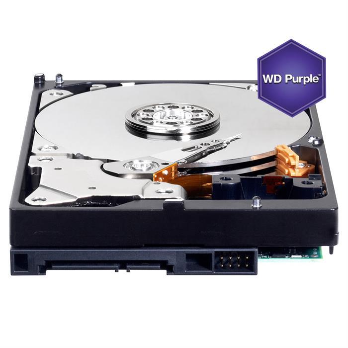 WD Purple 2TB Surveillance Hard Drive Disk, 5400 RPM Class, SATA 6 Gb/s, 64MB Cache, 3.5 Inch (WD20PURX)