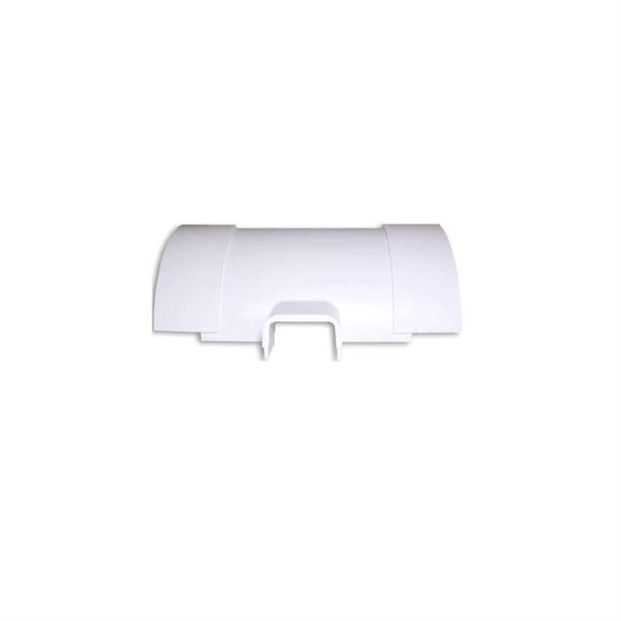 Wire Track Corner Tee Reducer FMTR11501125W - White