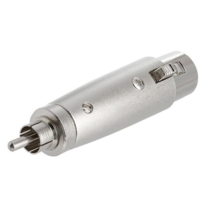 XLR Jack to RCA Plug Adapter